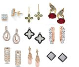 Many 100% Sterling Silver Earrings to Choose: