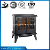 Cast Iron Wood Burning Stove Fireplace with Customized Service