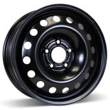 16X6.5 (5-115) Black Steel Winter Wheel Rim