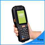 Battery Powered 3G Bluetooth Mobile Phone Android Terminal PDA Barcode Scanner
