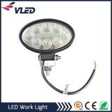 24W Jeep Offroad Waterproof LED Work Light Bar for Truck