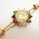 Factory OEM Diamante Charming Wrist Watch for Ladies Jewelry Watch