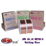 TUV. Nk, MIG Wire/CO2 Wire/Copper Coated Welding Wire Er70s-6
