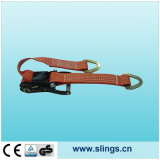 Ratchet Strap with Claw Hooks