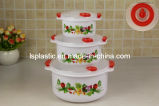 6 PCS Plastic Microwave Food Boxes (LS-2011)