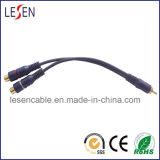 RCA Cable, 1 RCA Male to 2RCA Female Plugs