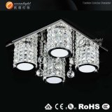 LED Modern Crystal Ceiling Lamp for Living Room, Square Ceiling Lighting (OM88149-4)