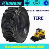 Skid steer loader tyre with DOT 10-16.5 sks bobcat nylon tyre