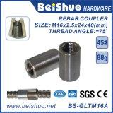 Threaded Rod Splicing Steel Rebar Coupler
