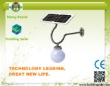 Solar Garden Wall Light with Microwave Sensor for Outdoor Using