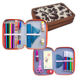 Pencil, Ruler, Eraser, Stationery Bag