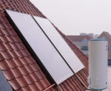Separated Pressurized Solar Water Heater with Flat Collector