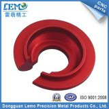 Precision Aluminum CNC Part with Red Anodizing (LM-0517D)