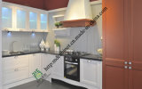 Simple Design Lacquer and PVC Kitchen Cabinet (zs-474)