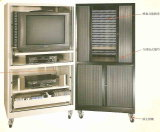 New Design Movable Metal Television Cabinet