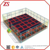 Small Size Indoor Family Basketball Slam Dunk Trampoline Park