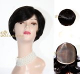 Full Handtied Brizilian Hair Full Lace Wig No Tangle No Shedding Human Hair Wig