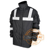 Waterproof Reflective Coat Adopt Dryvin Fabric