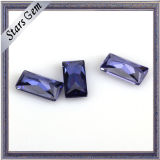 Wuzhou Factory Price for Rectangle Shape CZ Stone