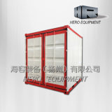 Container House Shop Kiosk with PVC Windows