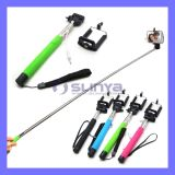 No Bluetooth Charging Needed Handhold Extendable Cable Take Pole Z07-5s Selfie Stick