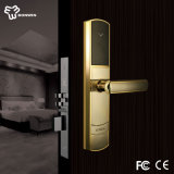 Elengant Design Nano-Plating Door Lock Body with Hidden Battery Box
