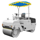 3ton Vibratory Road Roller with Double Drum