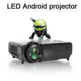 Pico LED Projector, HDMI LED Projector with WiFi, USB, VGA.