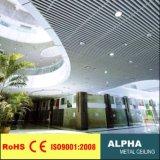 Aluminum Metal Decorative Indoor Suspended Flase Baffle Ceiling