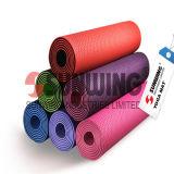 Printed Fabric Rubber Foam PVC Yoga Mat