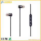Metal Magnet Adsorption Bluetooth Stereo Earphone V4.1 CSR Chips Connect Two Mobiles