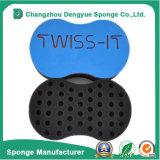 Double Side Hair Twist Curl Sponge Safe Hair Twist Sponge Brush for Sale