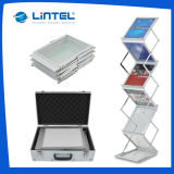 Acryl Literature Stand Folding Magazine Rack (LT-05B)