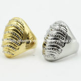 2015 High Quality Zircon Stainless Steel Jewellery Ring