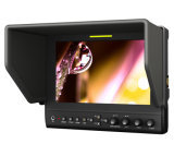 7 Inch LED Camera 3G-Sdi Monitor with HDMI, YPbPr