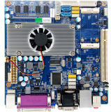 Cheap POS Terminal D525 Mini Itx Motherboard with 2GB RAM