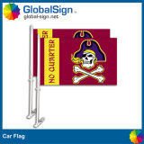 Hot Selling Promotional Car Flags with Full Color Printed