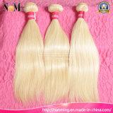Hair Color #613 Bleach Blonde Brazilian Human Hair Straight Extensions