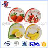 Aluminum Foil Lids for PP Plastic Yogurt Cup