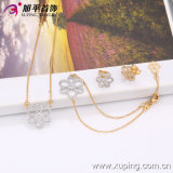 63358 Fashion Elegant Flower Jewelry Set for Lady′s Gifts
