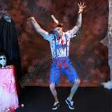 Carnival Party Men Cosplay Horror Blood Zombie Men Halloween Costume