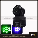7PCS 10W LED Mini Moving Head Light