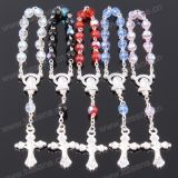 Hot Sale Mixed Colour 6mm Ab Section Crystal Chaplet