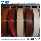 Wood Grain or Solid Color Edge Banding PVC for Furniture
