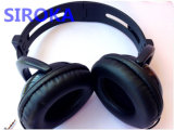 Leather Headphone with Low Price for Computer/ Smart Phone