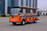 14 Seats Electric Shuttle Bus/Sightseeing Bus for Wholesale