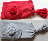 (LKN15032) Promotional Winter Knitted Scarf