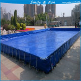 Size 10*10*1.32m for About 15 Persons Swimming Metal Frame Pool