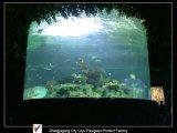 Acrylic Cylindrical Fish Tank Aquarium