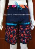 Floral Print Surf Short Swimwear Beachwear for Men